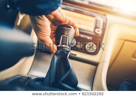 マニュアル 車 ギア シフト クローズアップ ヨーロッパの ストックフォト © ldambies