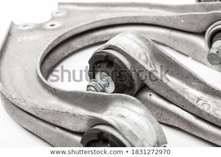 Aço suspensão brasão veículo Foto stock © RuslanOmega