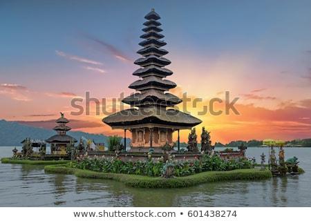 świątyni bali piękna drzewo budynku Zdjęcia stock © Mariusz_Prusaczyk
