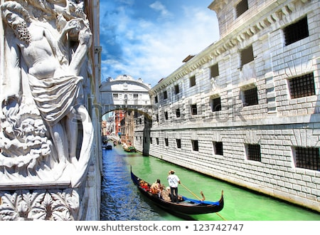 Bridge of sighs in Venice, Italy Stock photo © AndreyKr