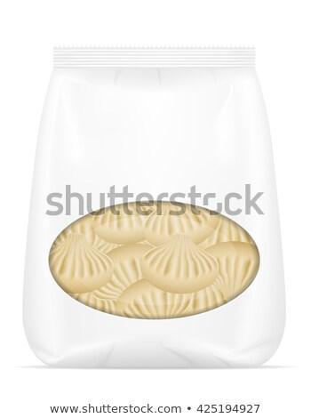 Vulling vector geïsoleerd witte achtergrond vak Stockfoto © konturvid