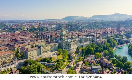 cityscape · pitoresco · cidade · rio · Suíça · ponte - foto stock © benkrut
