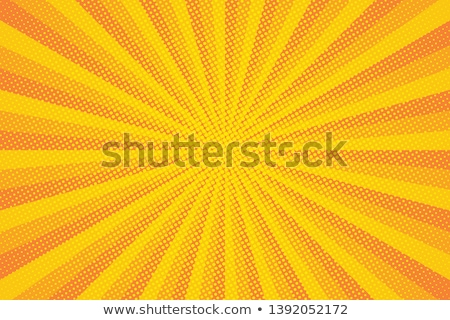 Halftone design with a burst. EPS 10 Stock photo © beholdereye