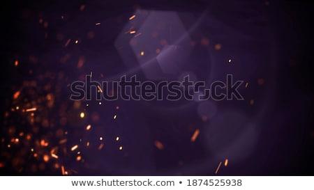 Fekete éjszaka koszos retro absztrakt terv Stock fotó © SwillSkill