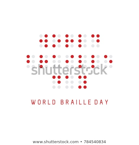 Braille Concept Read And Letters Stock photo © albund