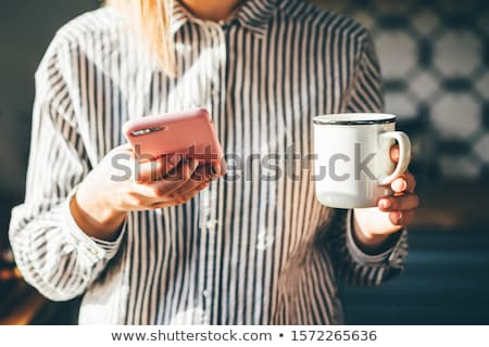 morning with news stock photo © fisher