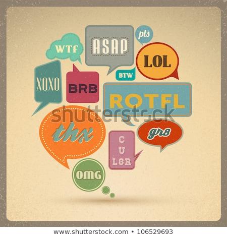 Używany Internetu stylu kolorowy Zdjęcia stock © pashabo