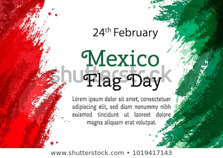 24 February  Flag Day in Mexico Stock photo © Olena