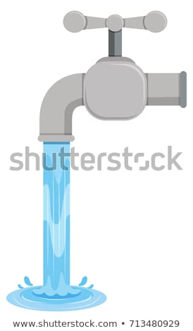 Tab water coming out from tab Stock photo © bluering