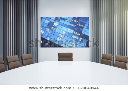 Business Analytics on Laptop in Conference Room. 3D. Stock photo © tashatuvango