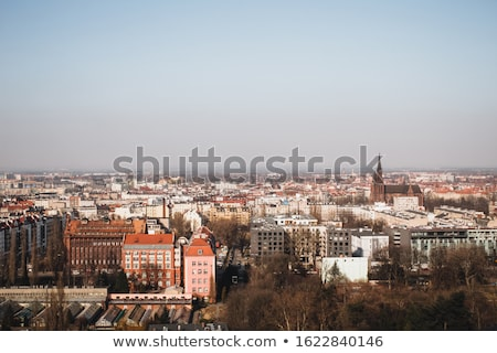 View of the ancient city Wroclaw. Location: famous place Odra ri Stock photo © Leonidtit