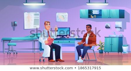 astma · zdrowia · diagnoza · schemat · zdrowych · niezdrowy - zdjęcia stock © stevanovicigor