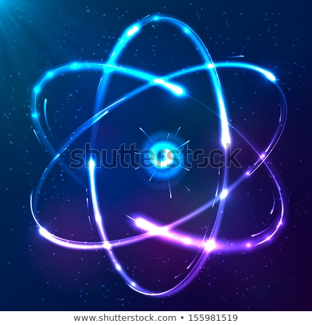azul · abstrato · ciência · atômico · energia - foto stock © SArts