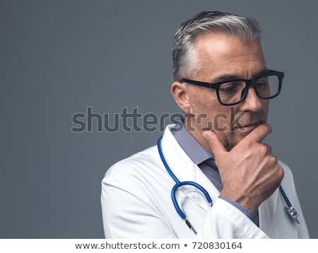 Concerned male doctor. Stock photo © IS2