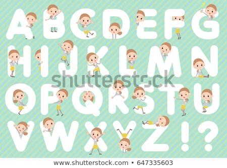 Za węzeł włosy żółty spódnica kobieta Zdjęcia stock © toyotoyo