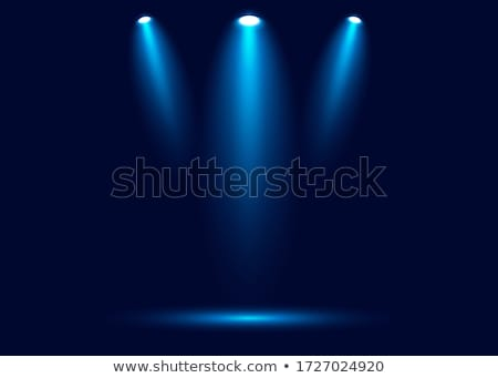 Fase plek verlichting magie licht vector Stockfoto © olehsvetiukha