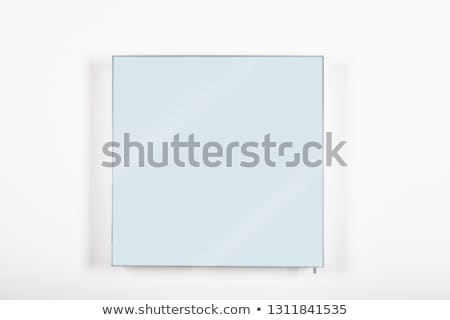 dois · vidro · branco · medicina · banheiro · dentes - foto stock © magraphics