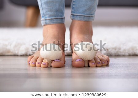 mushrooms between womans toes stock photo © andreypopov