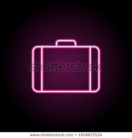 旅行 アイコン 白 実例 ツリー 背景 ストックフォト © bluering