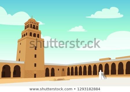 ランドマーク 建物 リヤド 実例 祈り 宗教 ストックフォト © artisticco