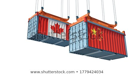 China Canada Conflict Stock photo © Lightsource