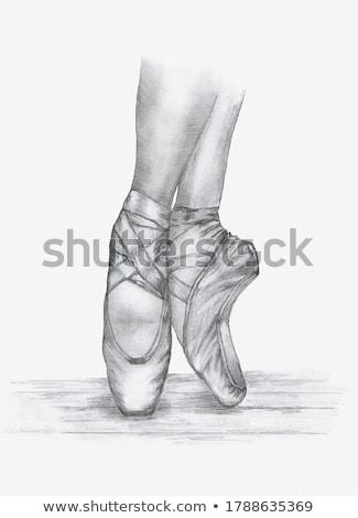 öreg · cipők · bőr · fából · készült · izolált · fehér - stock fotó © hitdelight