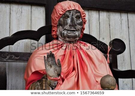 Binzuru statue in Daibutsu-den Todai-ji temple, Nara, Japan Stock photo © daboost
