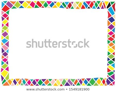 Kırmızı yılan dikkat örnek doku arka plan Stok fotoğraf © bluering