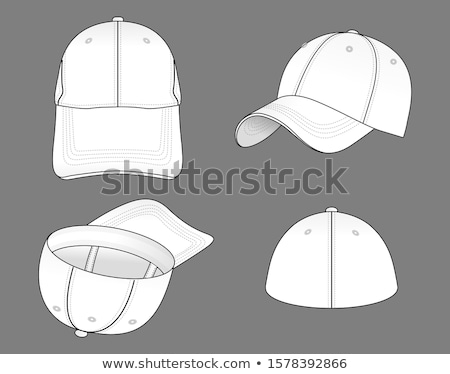 Baseball cap set pattern Stock photo © netkov1