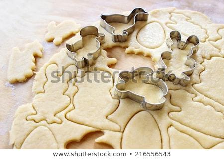 Pão de especiarias cozinhar Páscoa bolinhos comida feliz Foto stock © furmanphoto