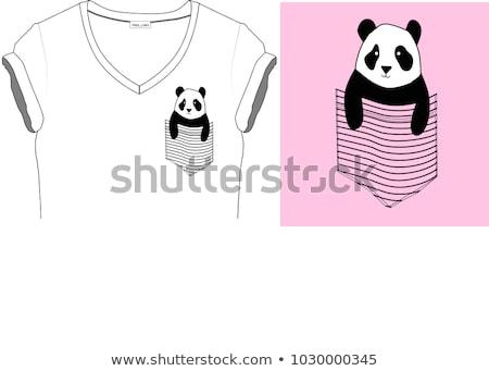 Tshirt Design Grafik glückliches Gesicht Illustration Gesicht Stock foto © bluering