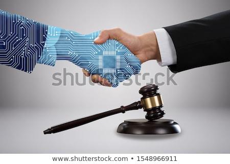 digitale · transformatie · voortvarend · papier · documenten - stockfoto © andreypopov