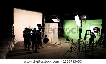 Kameramann Kamera Kran Video Produktion Set Stock foto © Kzenon