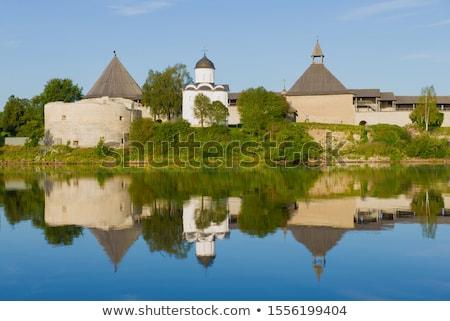 Kerk Rusland wijk een kerken dating Stockfoto © borisb17