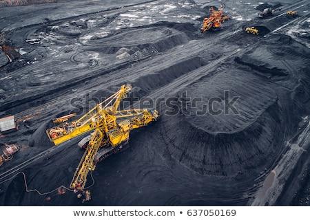 Ciężki maszyn węgiel wydobycie paliwa energii Zdjęcia stock © jossdiim