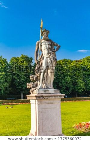 статуя дворец Мюнхен Германия вокруг саду Сток-фото © boggy