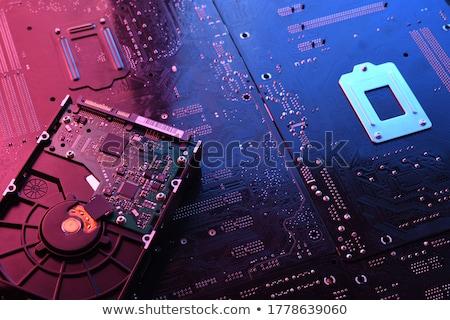 Server hard disk drive in close up Stock photo © gewoldi