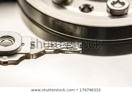 Okumak yazmak kafa bilgisayar kablo Stok fotoğraf © gewoldi