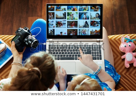 Digital Photo Gallery	 Stock photo © Spectral