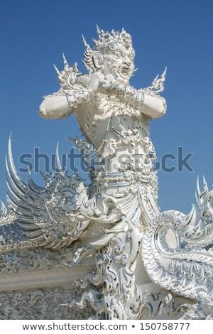 ストックフォト: 妖精 · 白 · 寺 · 建物 · デザイン · 旅行