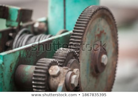 motion gears - team force Stock photo © Petkov