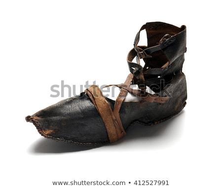Ancient footwear  Stock photo © sibrikov