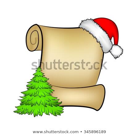 Noel · tebrik · kartları · sevimli · noel · baba - stok fotoğraf © marimorena