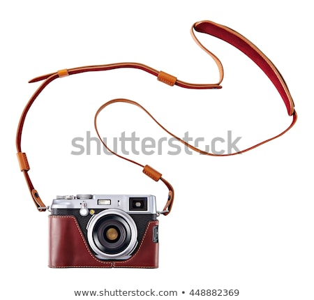 Stock photo: Digital compact photo camera isolated