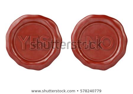 wax seal reject Stock photo © garyfox45116