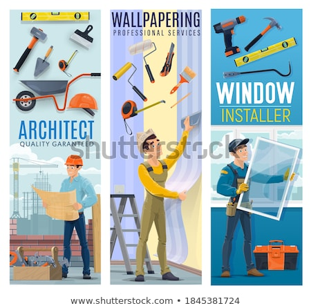 An architect with sledgehammer. Stock photo © photography33