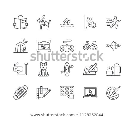 hobby symbols illustration stock photo © nikdoorg