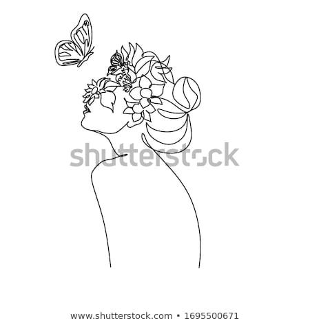 zonnebloem · vlinder · tijger · bloem · natuur · licht - stockfoto © ajlber