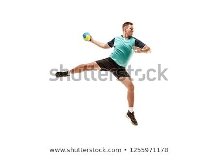handball player is shooting Stock photo © photography33