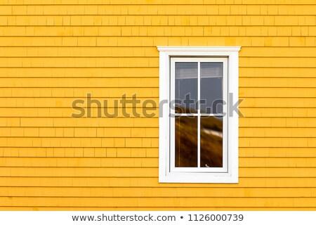 muur · houten · gebouw · abstract · frame · behang - stockfoto © searagen
